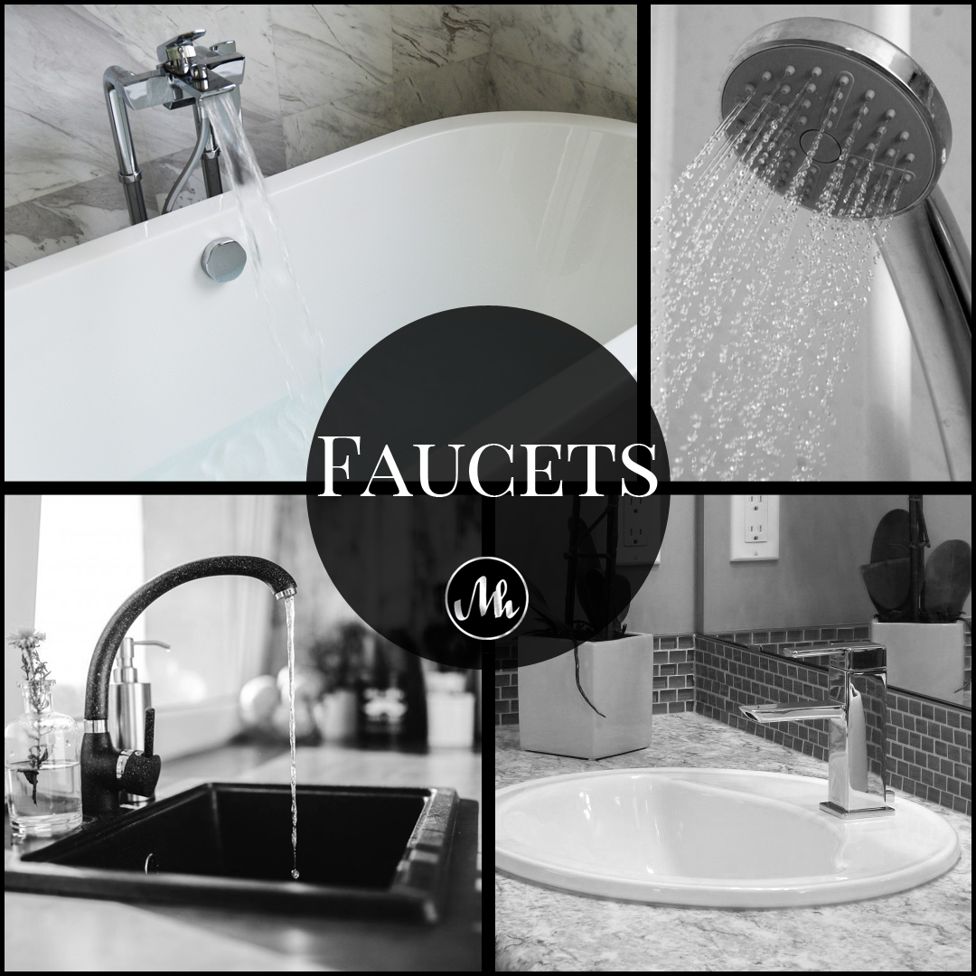 faucets and Shower Heads