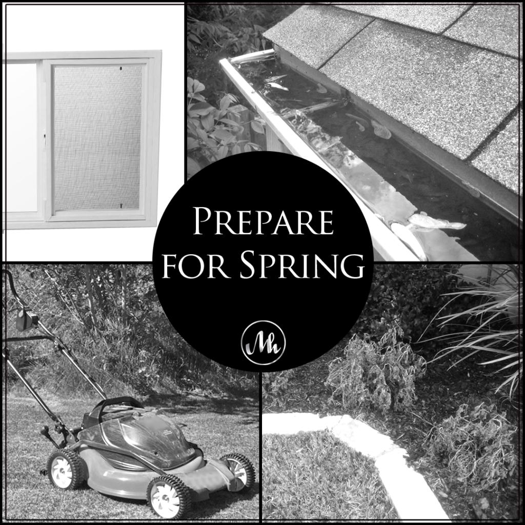 Spring Home Preparation